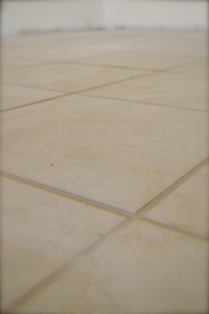 New kitchen tile.