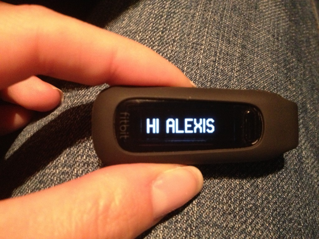 My new Fitbit experiment.